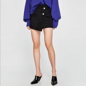 Zara Ultrasuede Skort